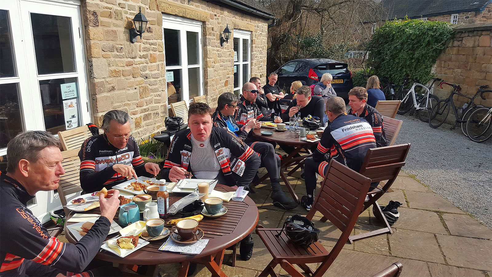 the old smithy cafe beeley