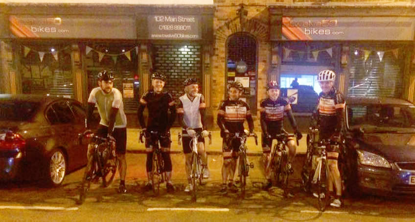 before dawn frodsham wheelers twelve50 bikes