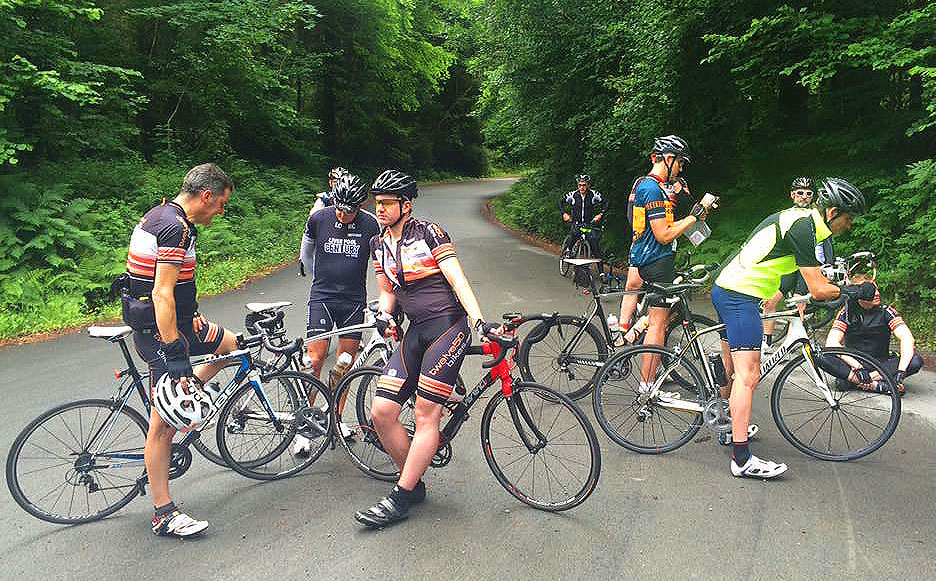 frodsham wheelers north wales d2d 2016