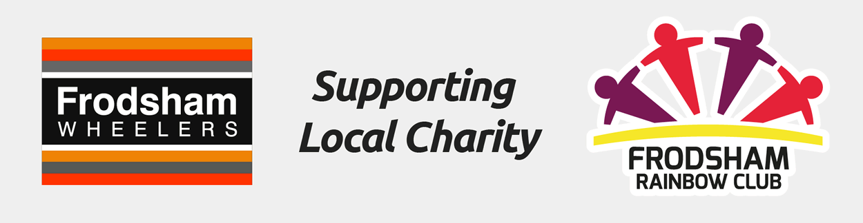 frodsham wheelers supports frodsham rainbow club