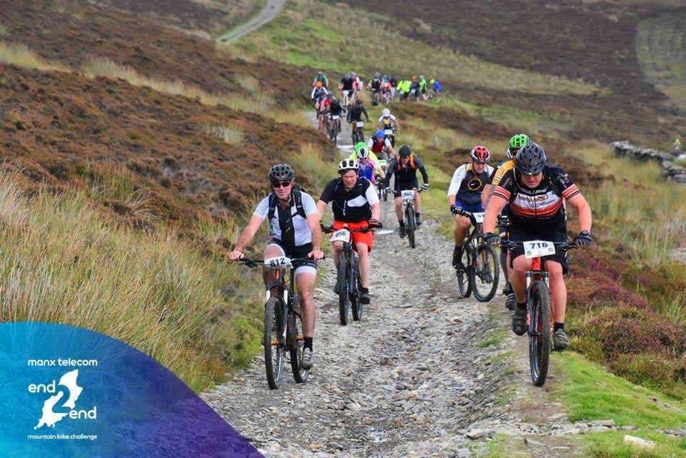 gary minnis mountain bike challenge 2016 end to end isle of man