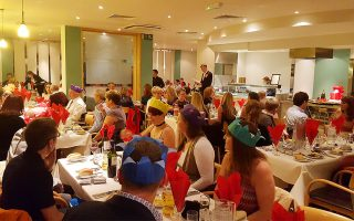 frodsham wheelers christmas party 2016