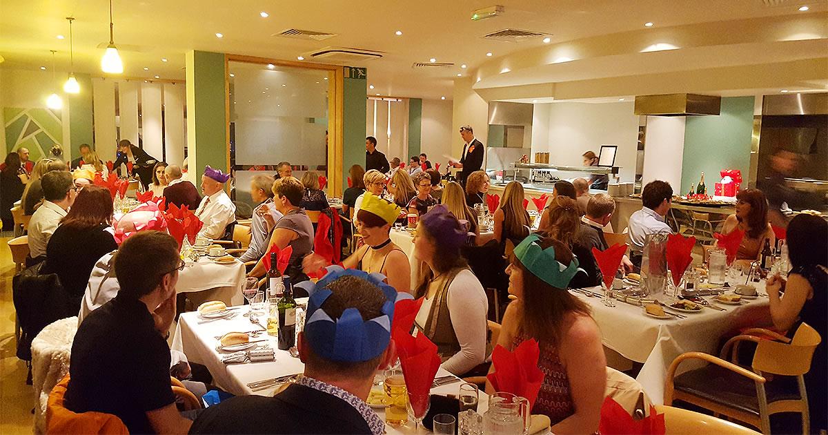 frodsham wheelers christmas party 2016