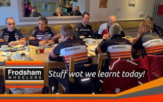 cleos cafe frodsham wheelers feat