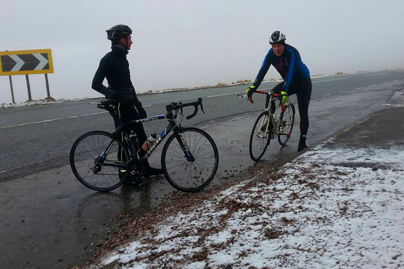 frodsham wheelers winter-2017 cat and fiddle cycle ride 2