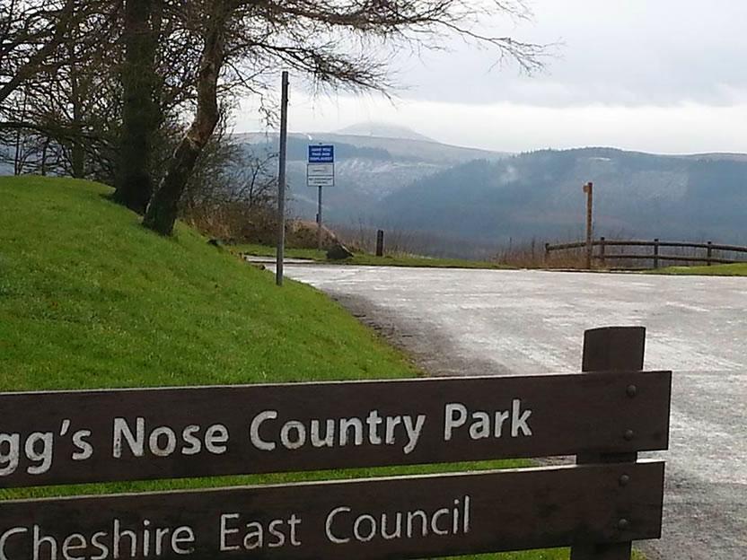 tegg nose country park winter