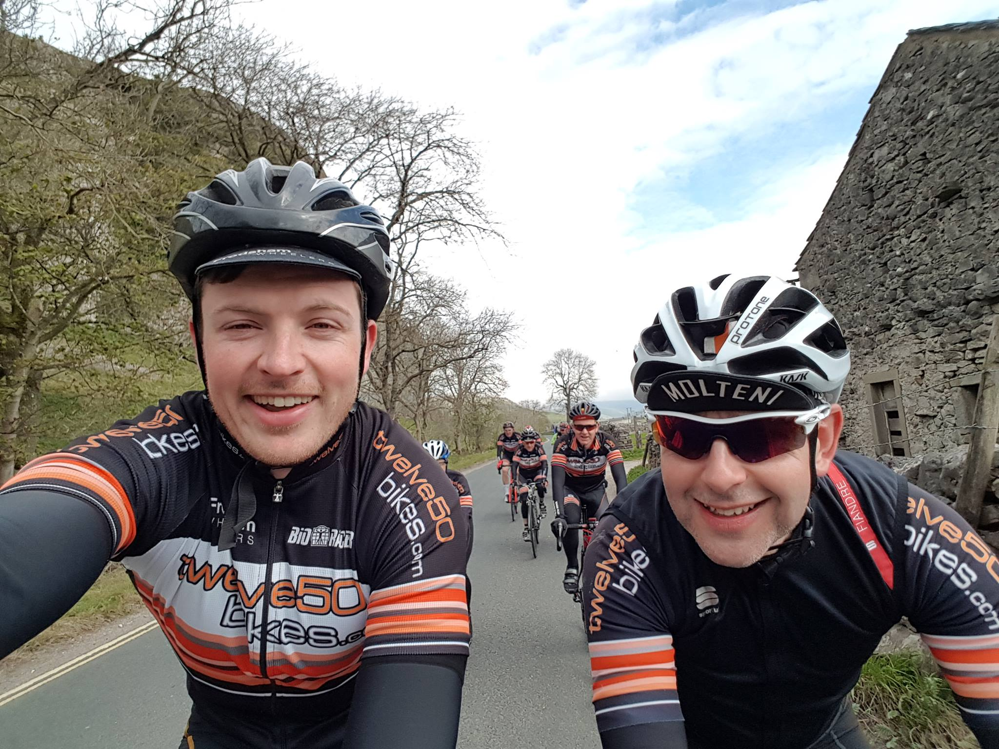 frodsham wheelers cycling tour yorkshire 2017