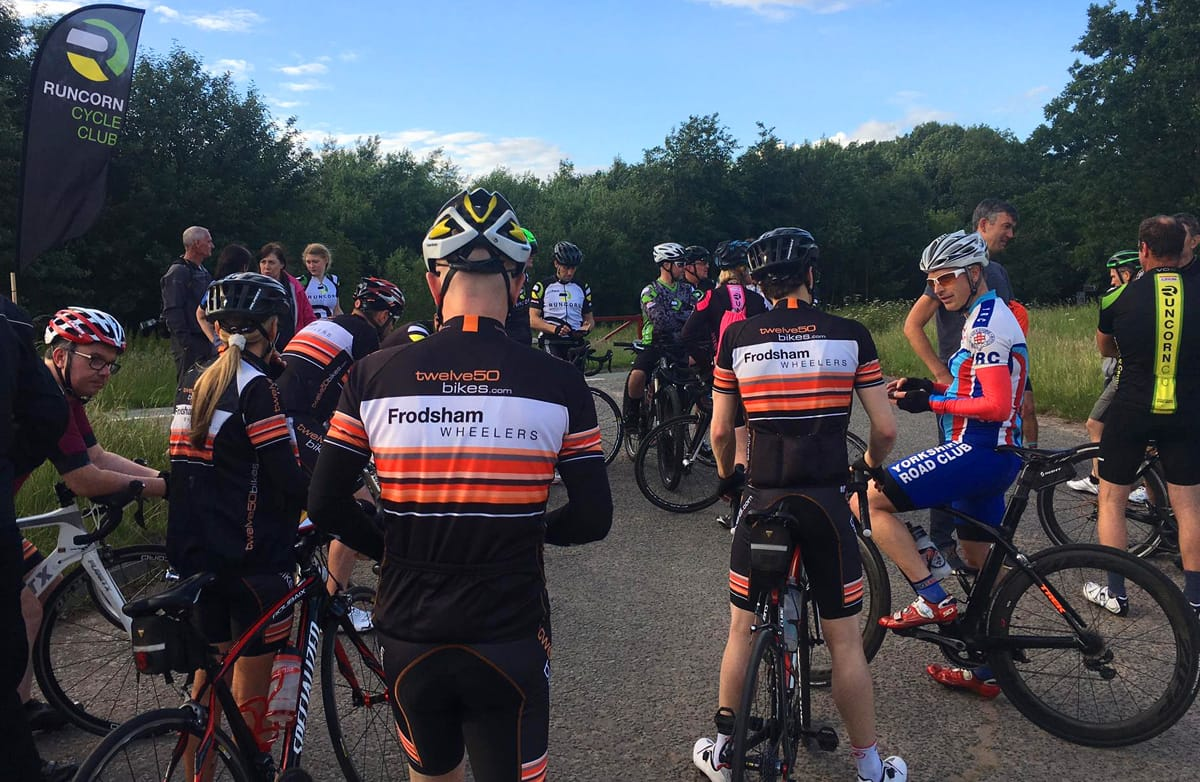 runcorn cycle club frodsham-wheelers time trial riders 15th june 2017