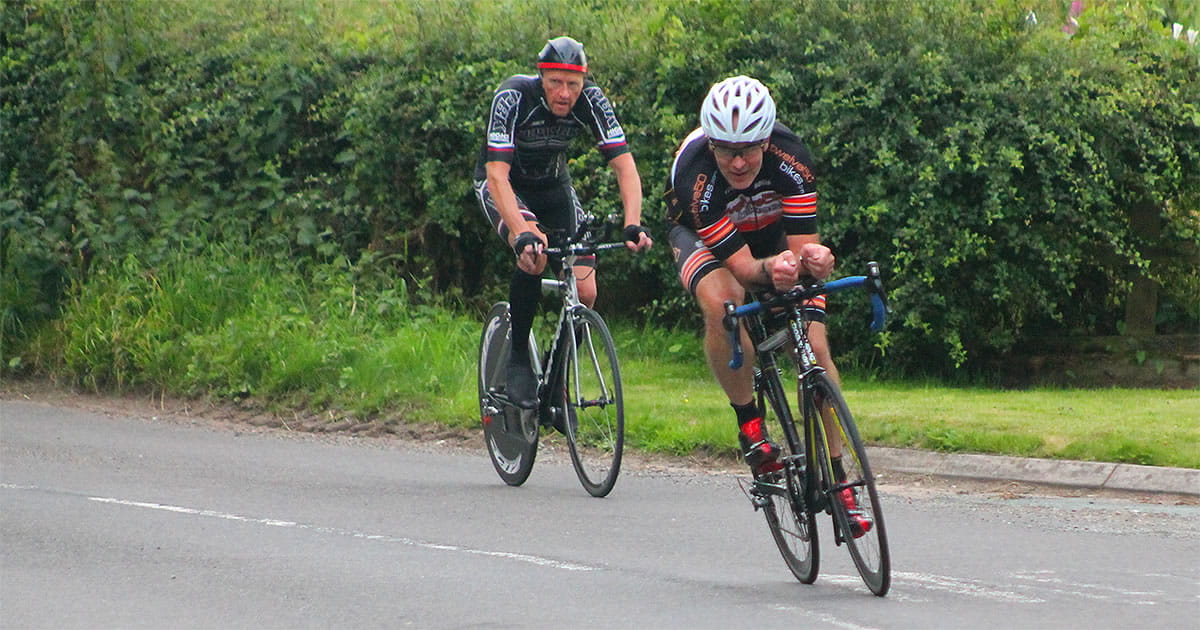 alan orme stuart lloyd frodsham wheelers time trial riders