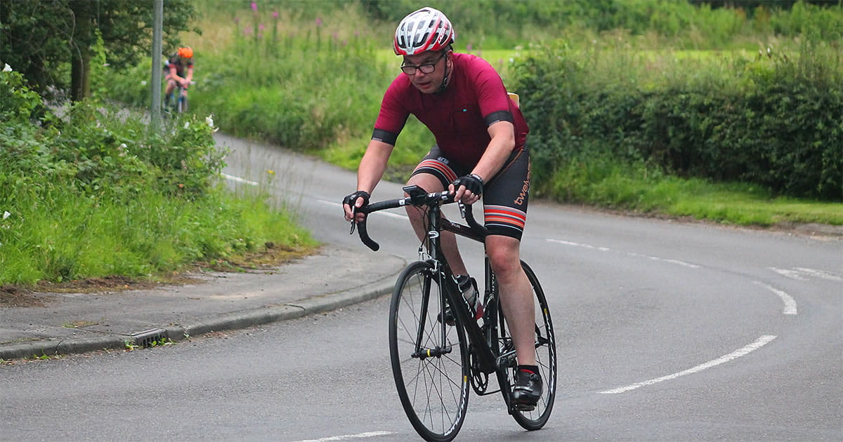 james murphy time trial rider grimsditch lane