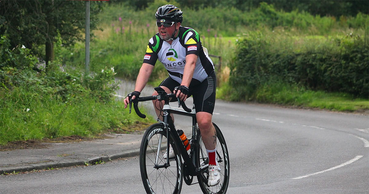runcorn cycle club time trial rider grimsditch lane