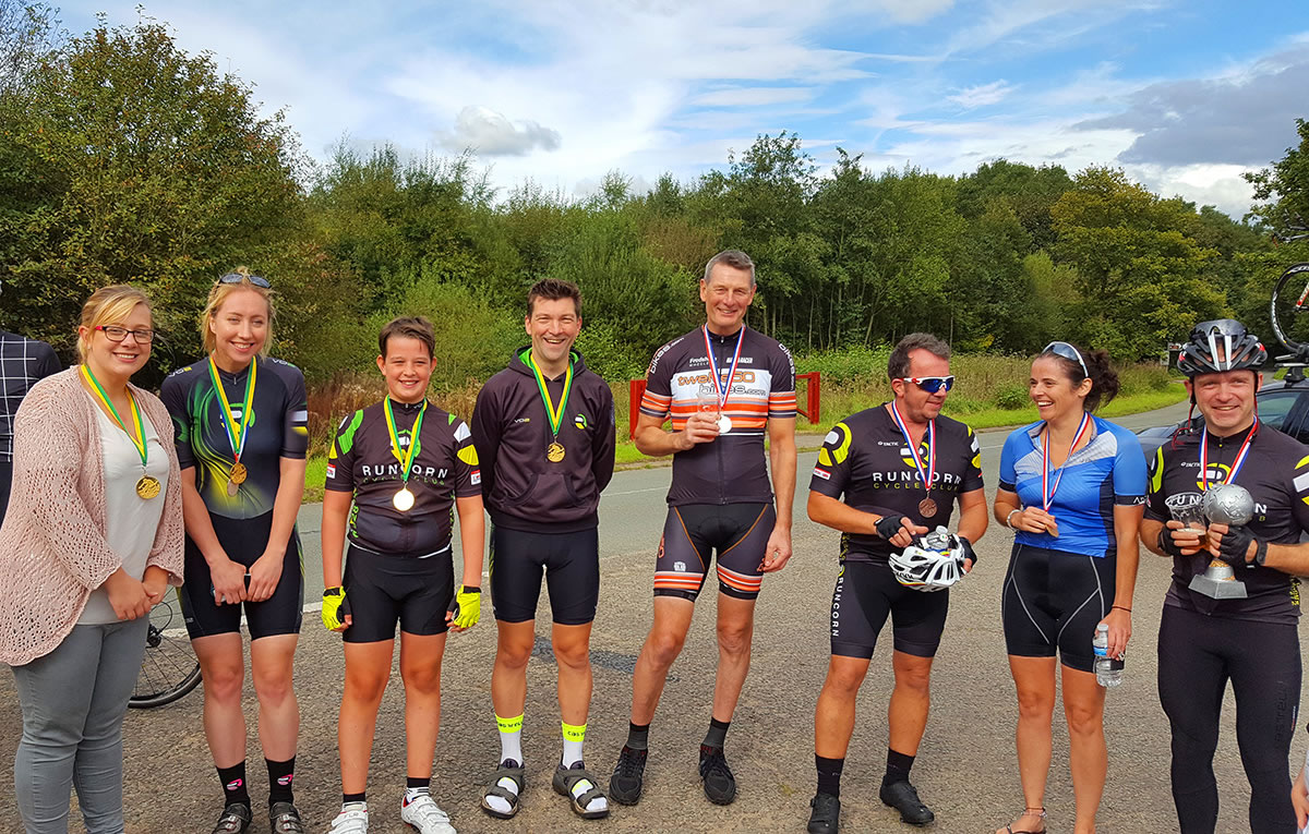 hatton 10 time trial handicap medal winners