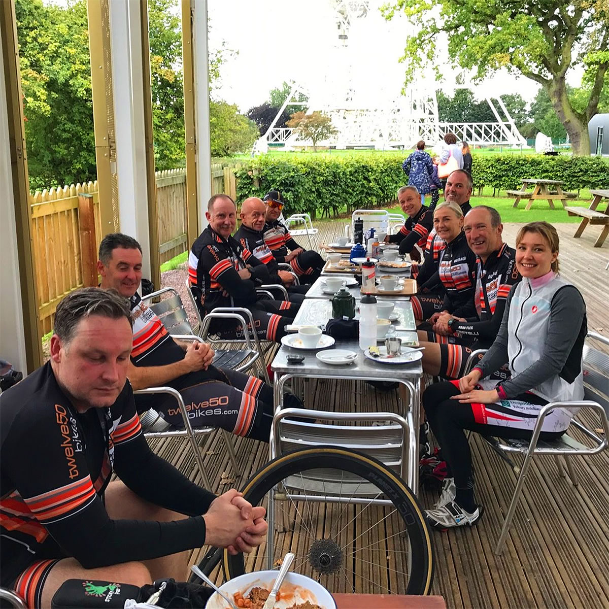 joderell bank cafe cycle ride 001
