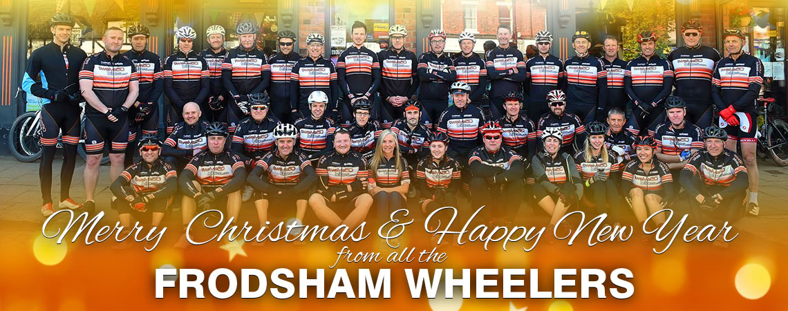 merry christmas 2017 frodsham wheelers cycling club