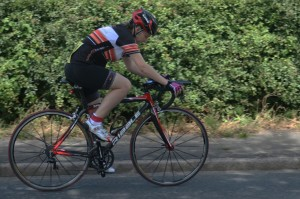 frodsham-wheelers-lady-rider-checking-times