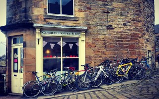 Cobbles Tea and Coffee Shop in Longnor