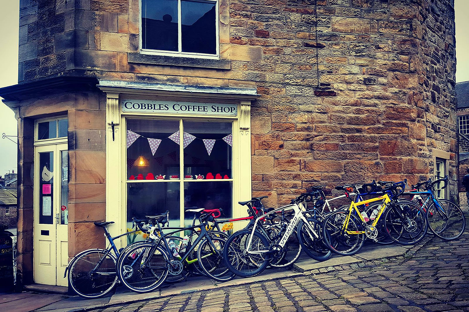 Cobbles Tea and Coffee Shop in Longnor