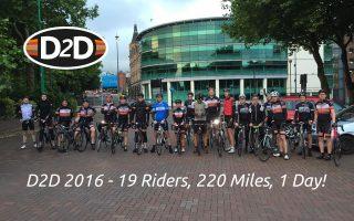 charity bike ride liverpool group photo