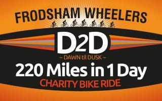 d2d charity bike ride banner