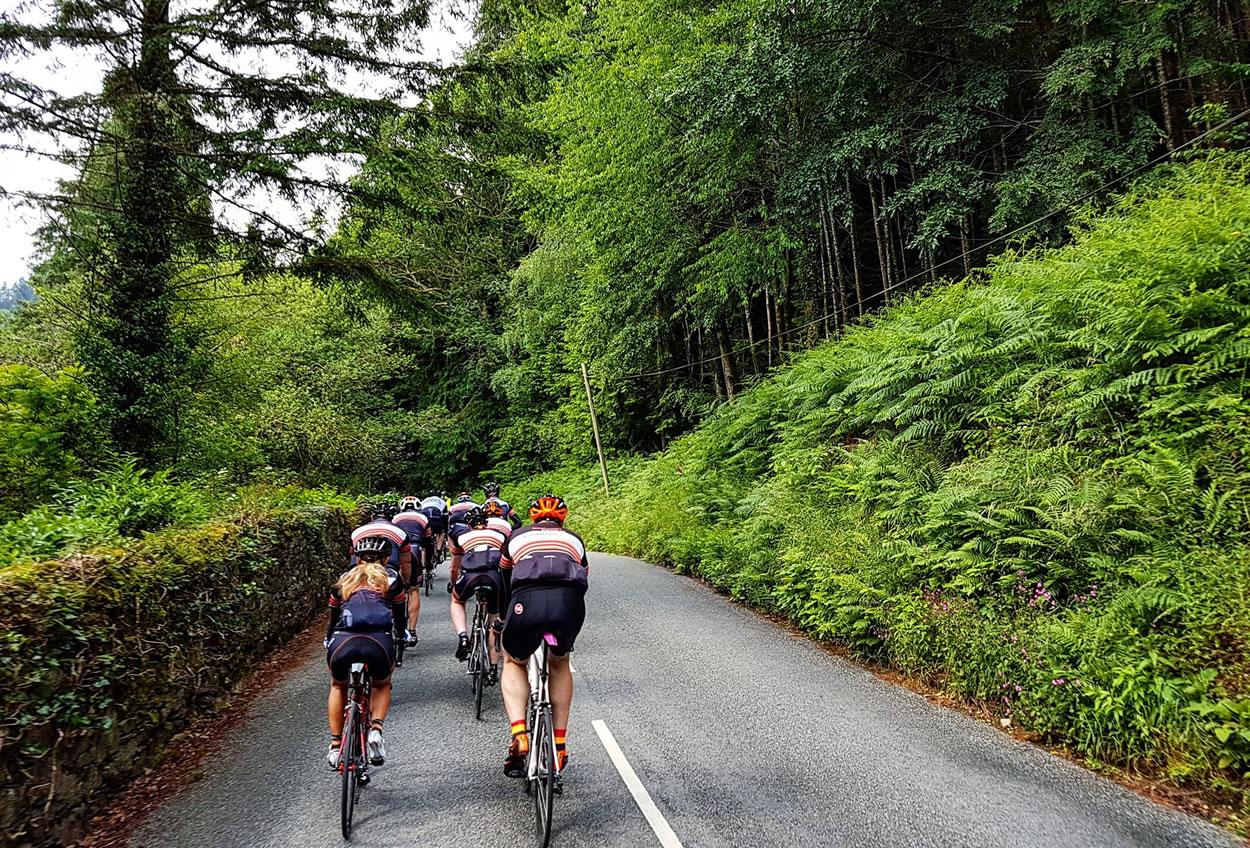 frodsham wheelers north wales roads summer 2016