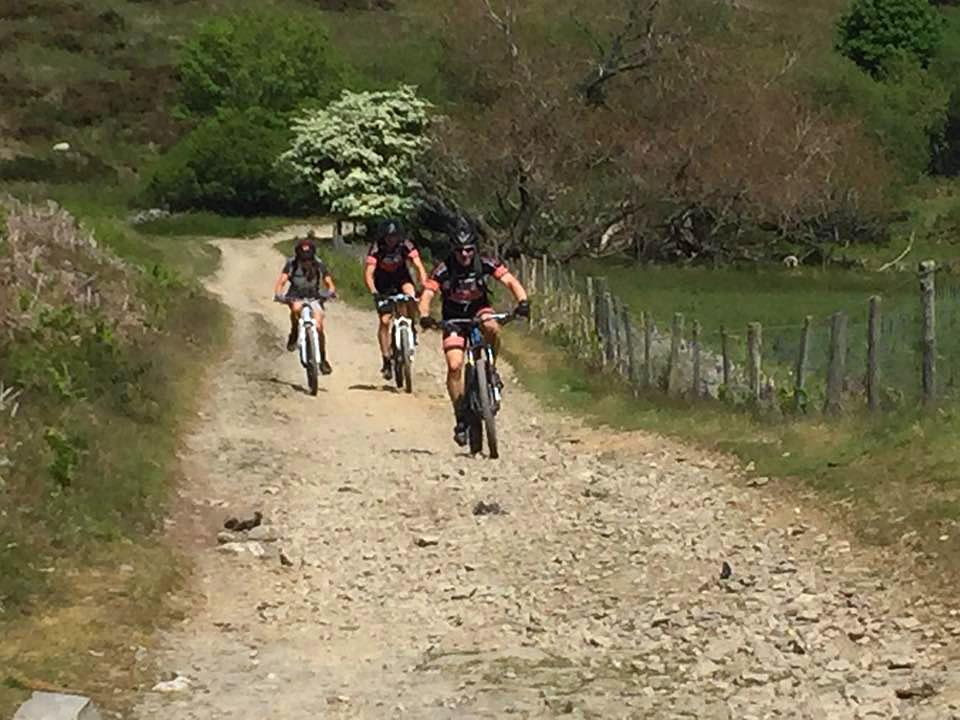 mountain bike riding north wales trail