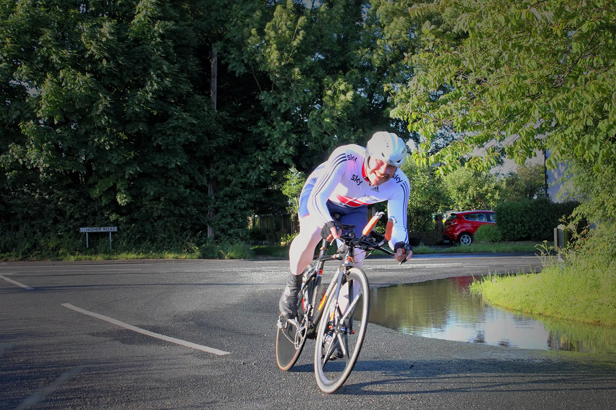 roy forster time trial frodsham wheelers