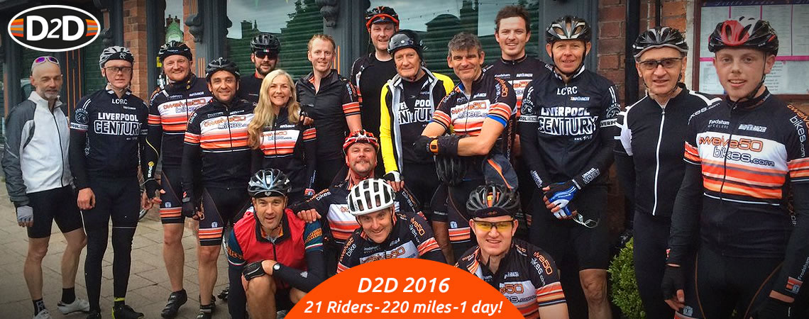 d2d 21 riders took part twelve50 bikes frodsham main street 2016