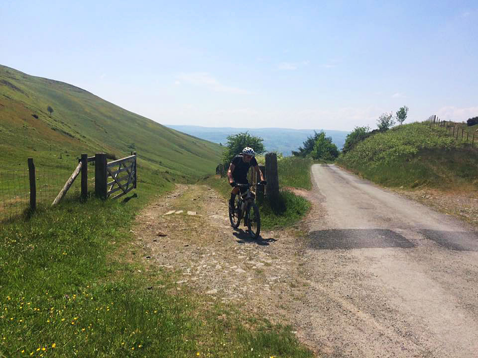 top steep mountain bike trail