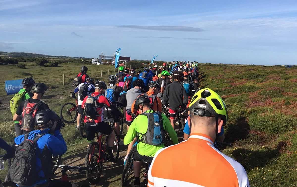 end to end mountain bike challenge isle of man start