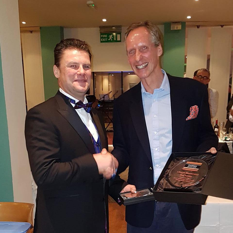 roy forster matthew kimpton smith frodsham wheelers awards ceremony