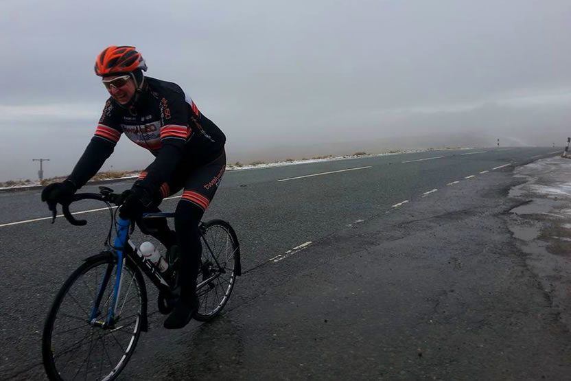frodsham wheelers winter 2017 cat and fiddle cycle ride 4
