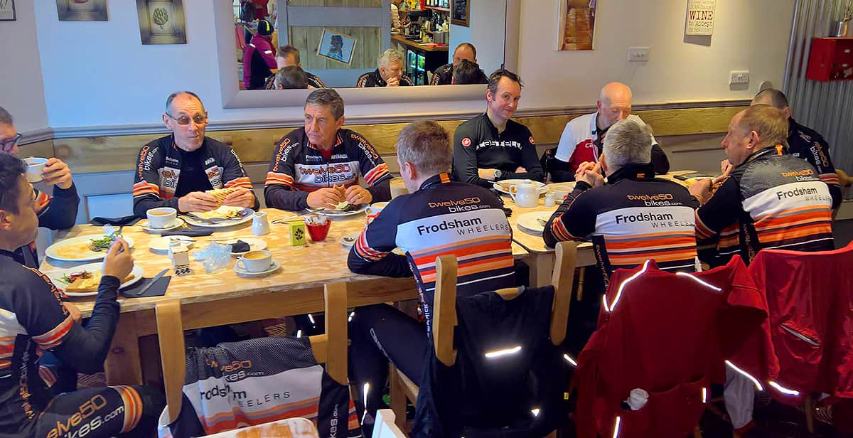 frodsham wheelers cleopatras coffee shop holt
