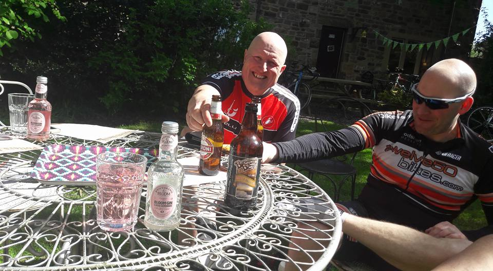 beer cycling ride complete