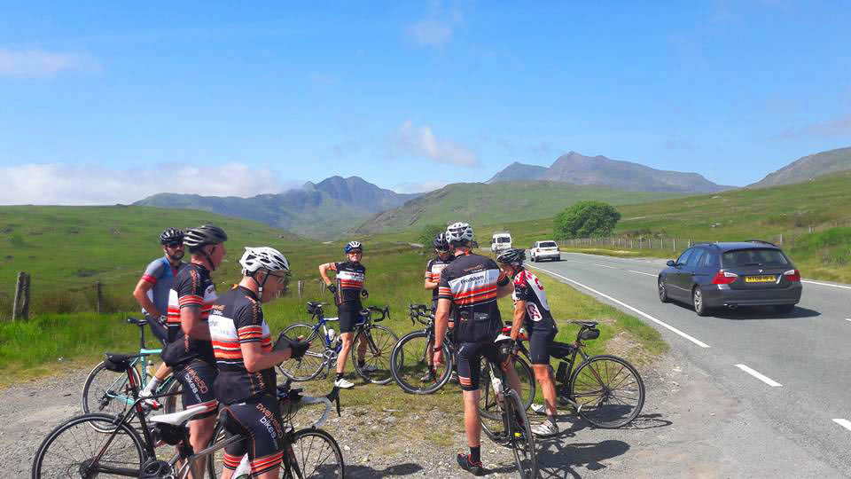 a498 north wales cycling snowdonia