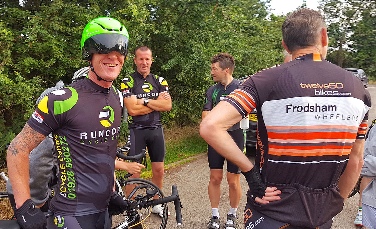 runcorn cycle club time trial riders