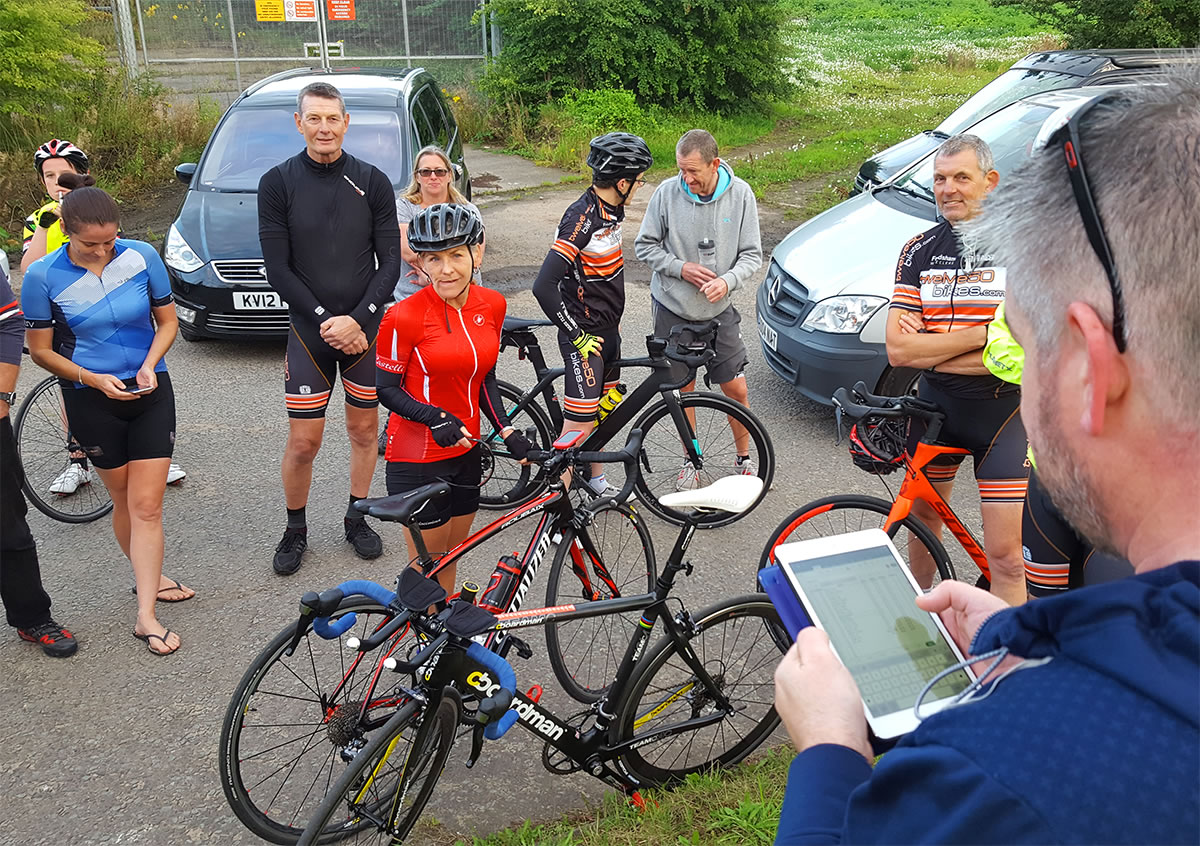 time trial rider times announced