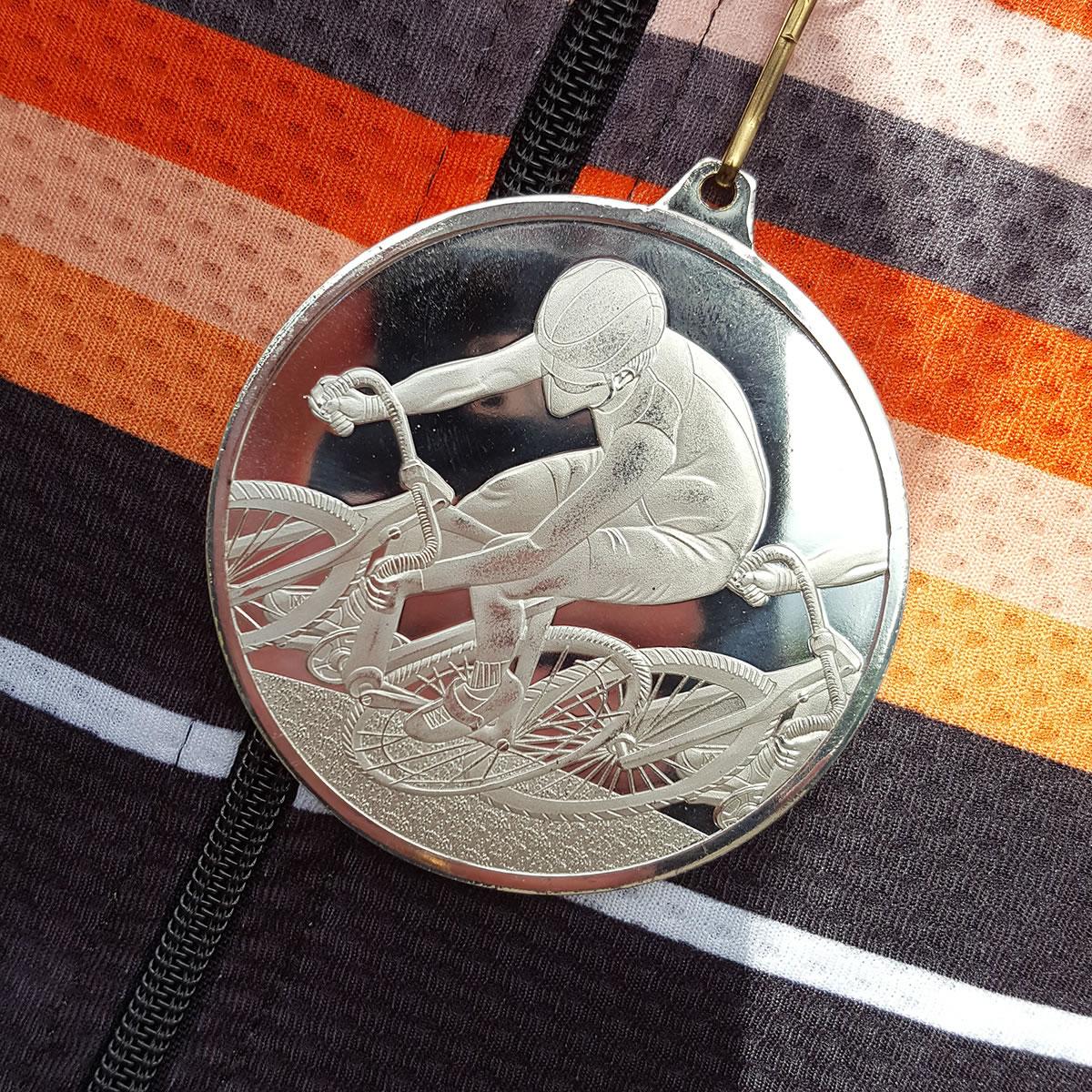 silver medal time trial winner
