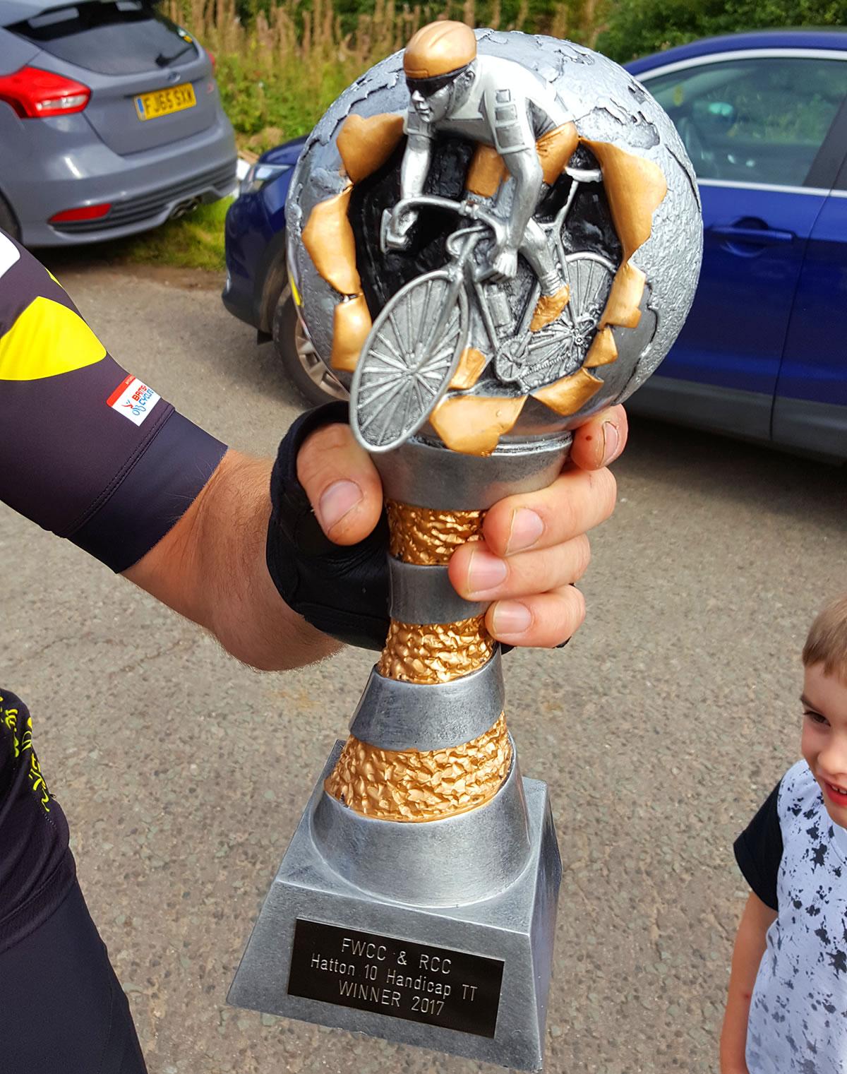 hatton 10 time trial winners trophy 2017