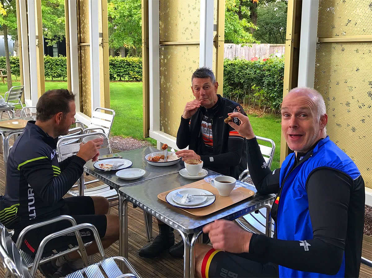 joderell bank cafe cycle ride