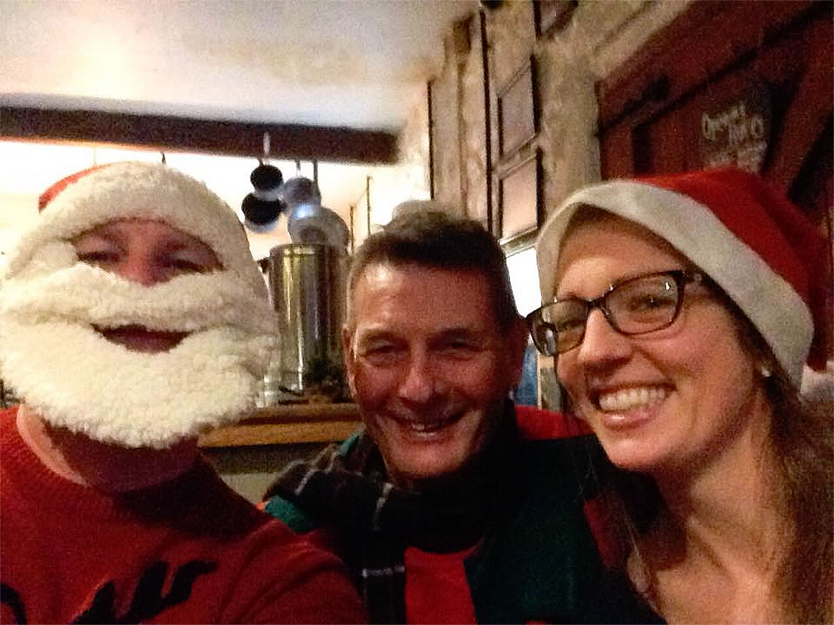 santa and the frodsham wheelers