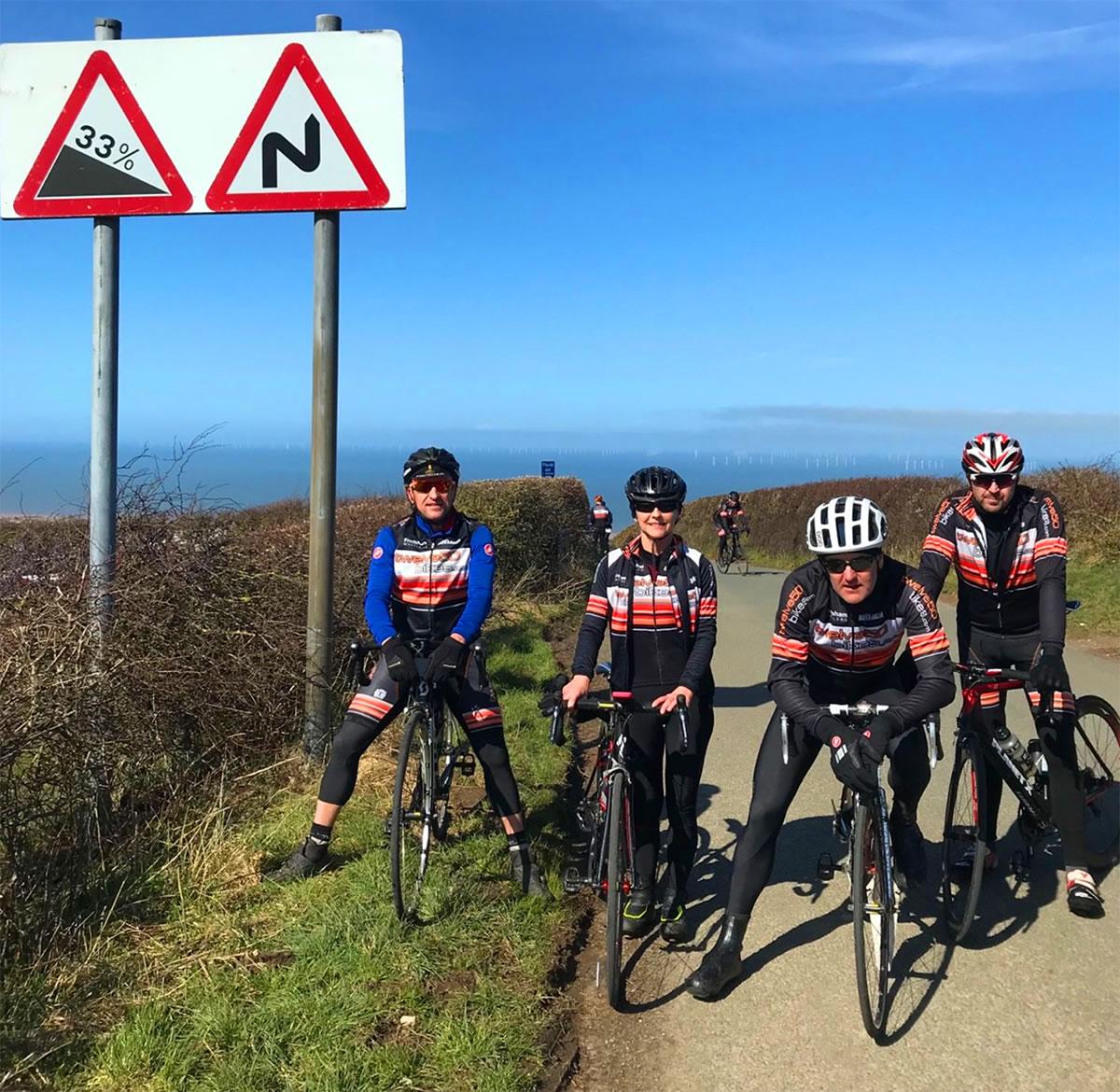 frodsham wheelers gwaenysgor hill prestatyn north wales cycling