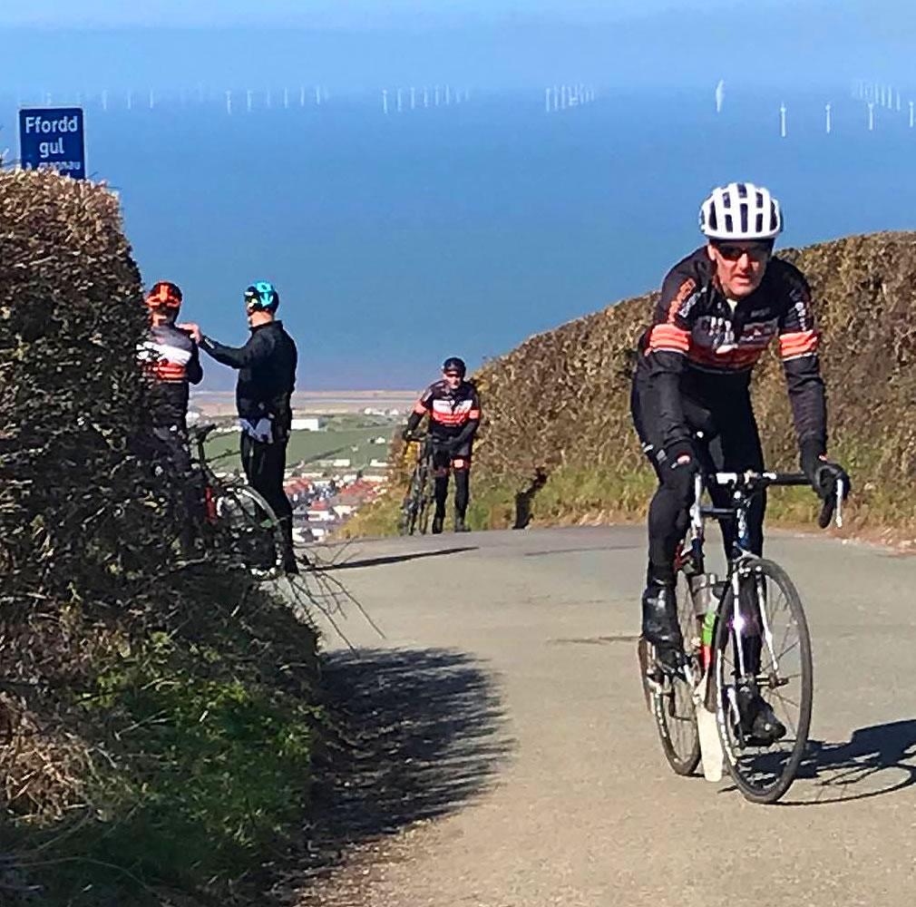 hillside cycling prestatyn gwaenysgor hill frodsham wheelers 2