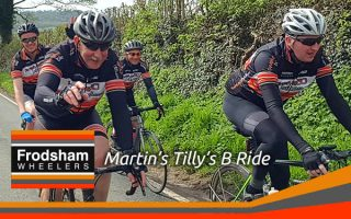 frodsham wheelers cyclists cheshire ft