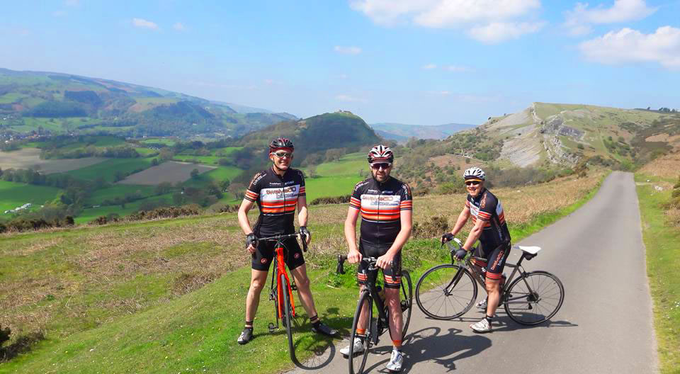 cycling club north wales ride 2018