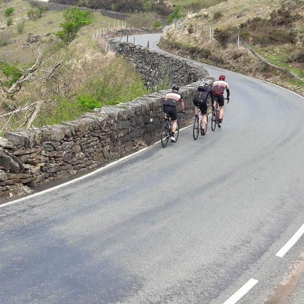 Frodsham Wheelers heading home
