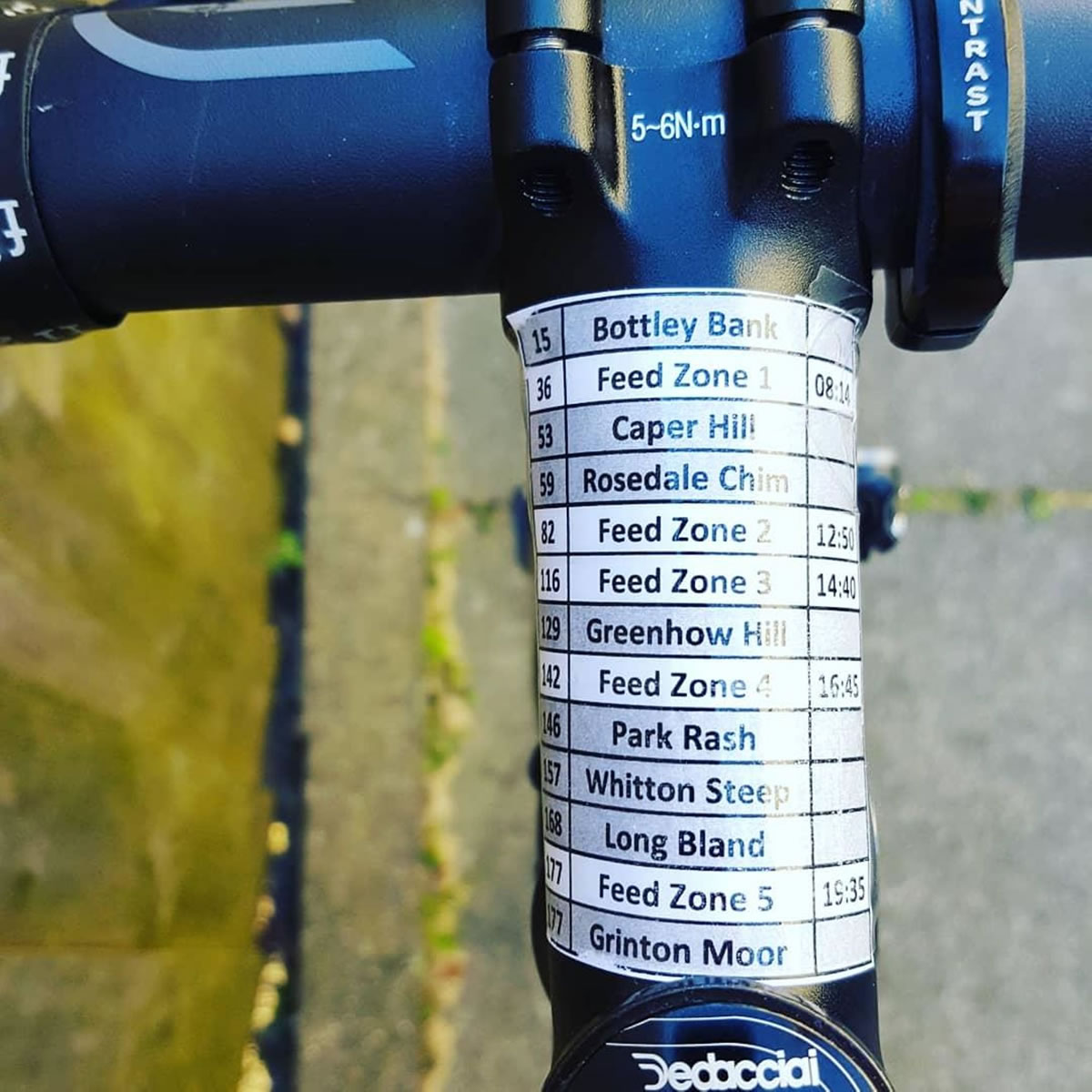 race stem sticker yorkshire beast