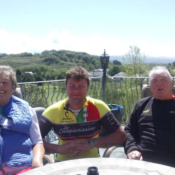 Roy with his Mum and Dad
