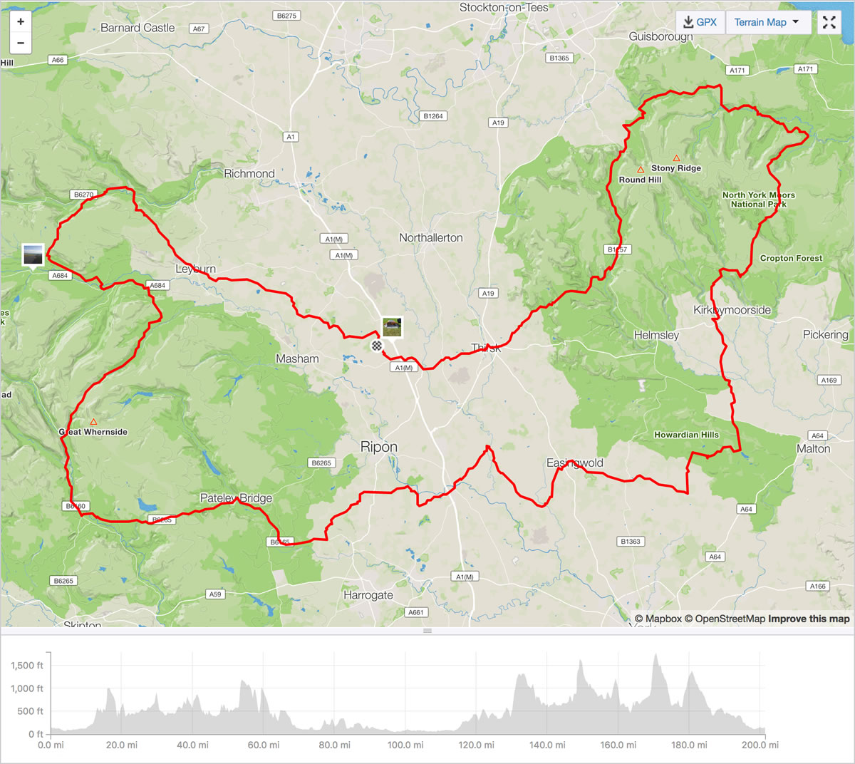 the yorkshire beast route strava