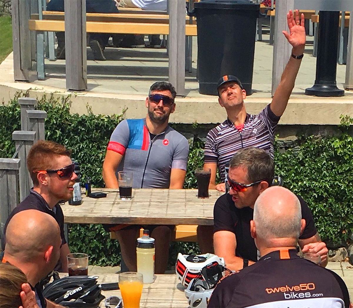 endurance cyclists norbar north wales